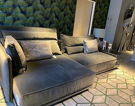 Wohnzimmer Sofa Leder Braun