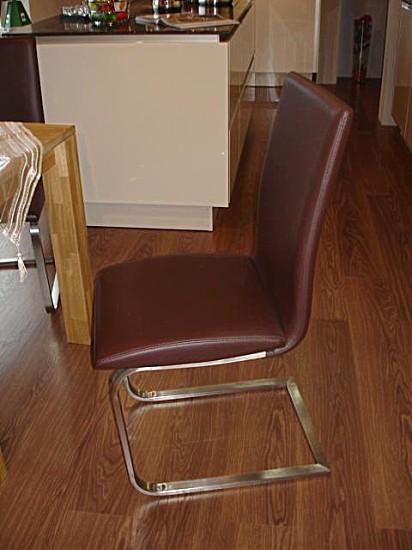 esstische sitzgruppe mit tisch eiche massiv und 4 schwingst hlen niehoff hausmarke m bel von in. Black Bedroom Furniture Sets. Home Design Ideas