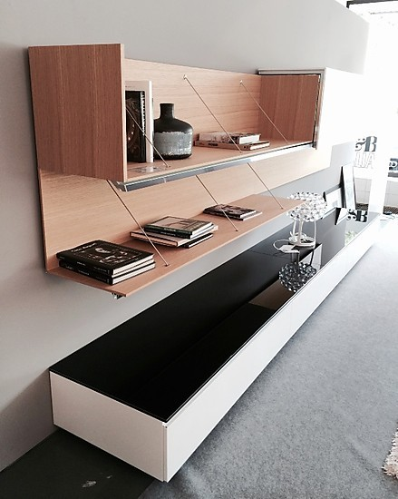 wohnw nde pab wohnwand b b italia m bel von meiser k chen. Black Bedroom Furniture Sets. Home Design Ideas