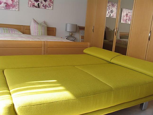 betten restyl mod xenia verwandlungsliege in gr n. Black Bedroom Furniture Sets. Home Design Ideas