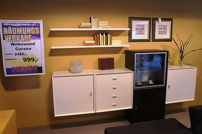 Wohnwände Curana Wohnwand Schieder Möbel Weißschoko Hausmarke