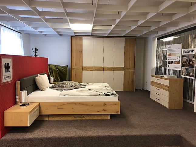 Schlafzimmer-Sets MINTO Schlafzimmer in Balkeneiche und Lack sand ...