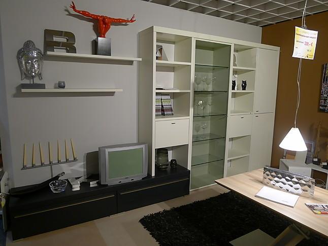 wohnw nde encado ii h lsta wohnwand cremewei seidenmatt h lsta m bel von wenzel wohnideen in jena. Black Bedroom Furniture Sets. Home Design Ideas