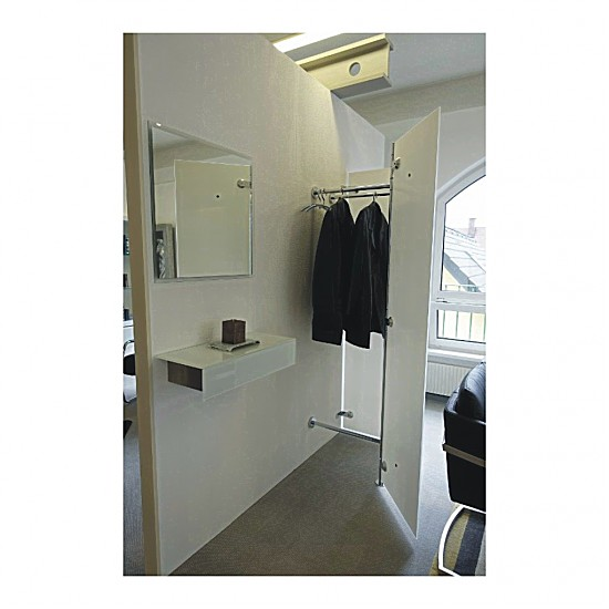 garderoben albatros 2 garderobe d tec m bel von einrichtungsstudio scharfm ller in st p lten. Black Bedroom Furniture Sets. Home Design Ideas