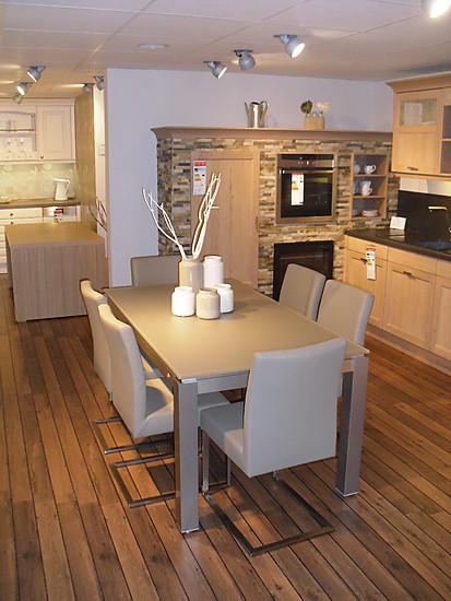 esstische satinato glastisch mit wesco tischgestell und. Black Bedroom Furniture Sets. Home Design Ideas