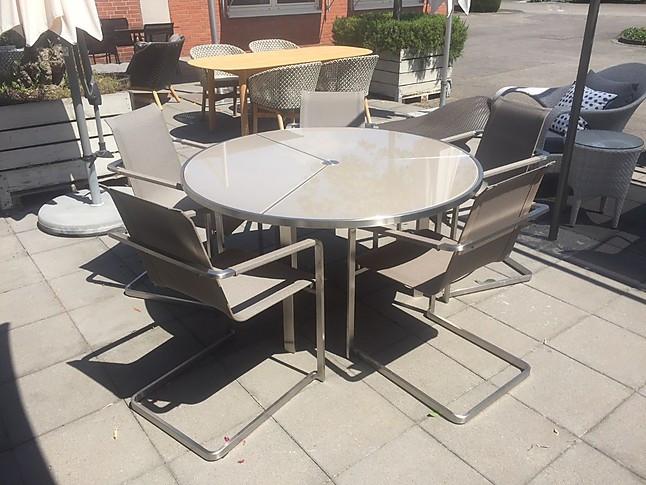 Gartenmöbel-Sets Garten Sitzgruppe - Tisch Royal Botania + 4 ...