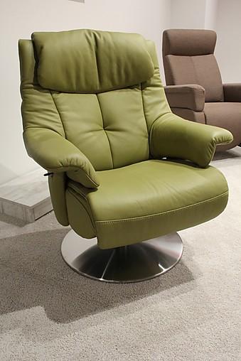 sessel leder relaxsessel mit manueller verstellung 7501. Black Bedroom Furniture Sets. Home Design Ideas