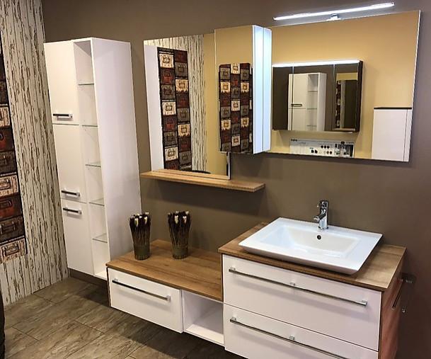 waschtische wei matt select und riviera eiche nb badm bel pelipal m bel von k chentreff. Black Bedroom Furniture Sets. Home Design Ideas