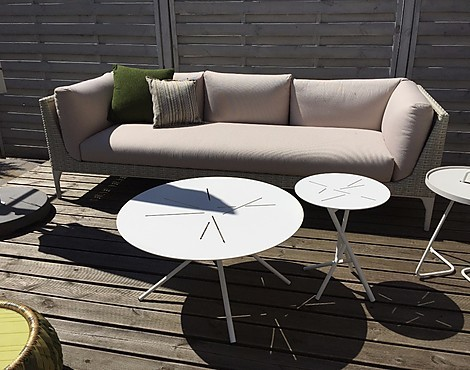 Dedon Loungesofa MU Geflecht mit Outdooorkissen - Loungesofa MU Geflecht mit Outdooorkissen