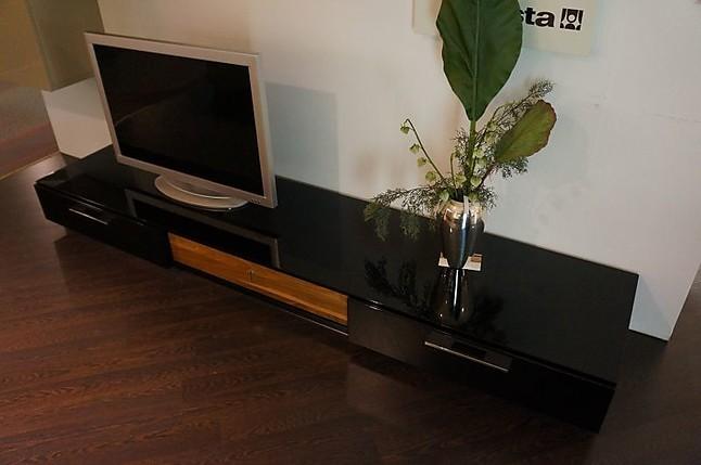wohnw nde lilac h lsta wohnwand hochglanz sand schwarz. Black Bedroom Furniture Sets. Home Design Ideas