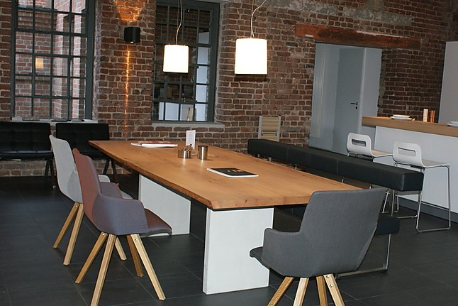 Girsberger Nur, Yara; Permesso Tisch, Bank Und Drei Stühle