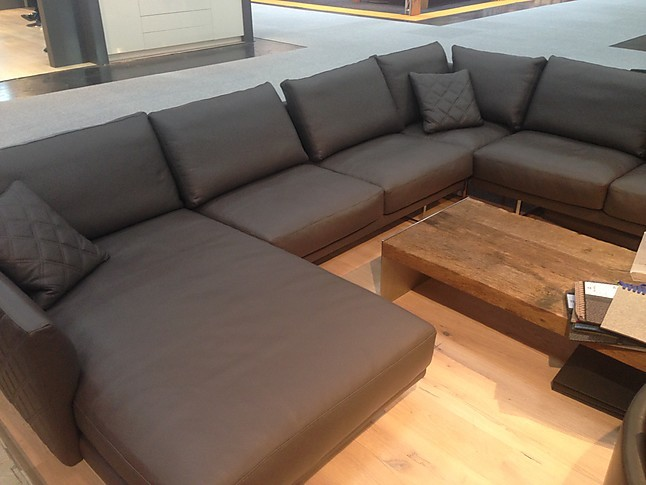 Sofas und Couches Gyform Eliot Grosses Ledersofa in U-Form ...