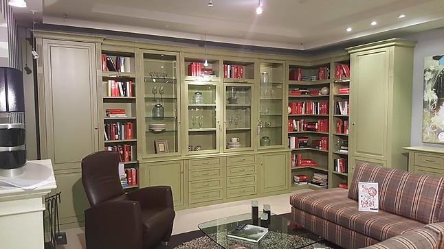 Wohnwände Classic Bibliothek Einrichtungsvorschlag Classic