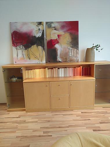 schr nke und vitrinen delta anrichte delta auf ahorn natur gruber schlager m bel von wohn. Black Bedroom Furniture Sets. Home Design Ideas