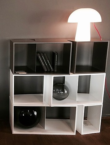 regale und sideboards cuts von ligne roset regalelement. Black Bedroom Furniture Sets. Home Design Ideas