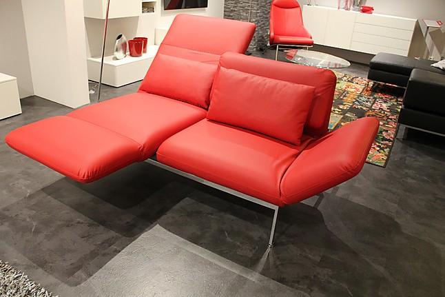 sofas und couches roro medium exklusiver leder 2 sitzer mit dreh und klappfunktionen br hl. Black Bedroom Furniture Sets. Home Design Ideas