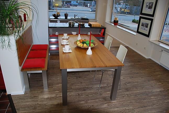 esstische tisch und sitzbank in eiche massiv. Black Bedroom Furniture Sets. Home Design Ideas