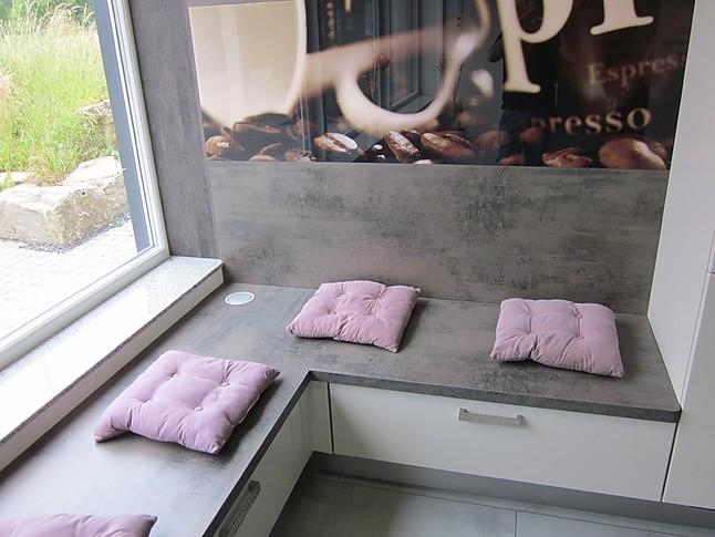 Küchensitzbank eckbänke nobilia ausstellungsstück 555 luxor 838 lack sand hochglanz nobilia küchensitzbank mit